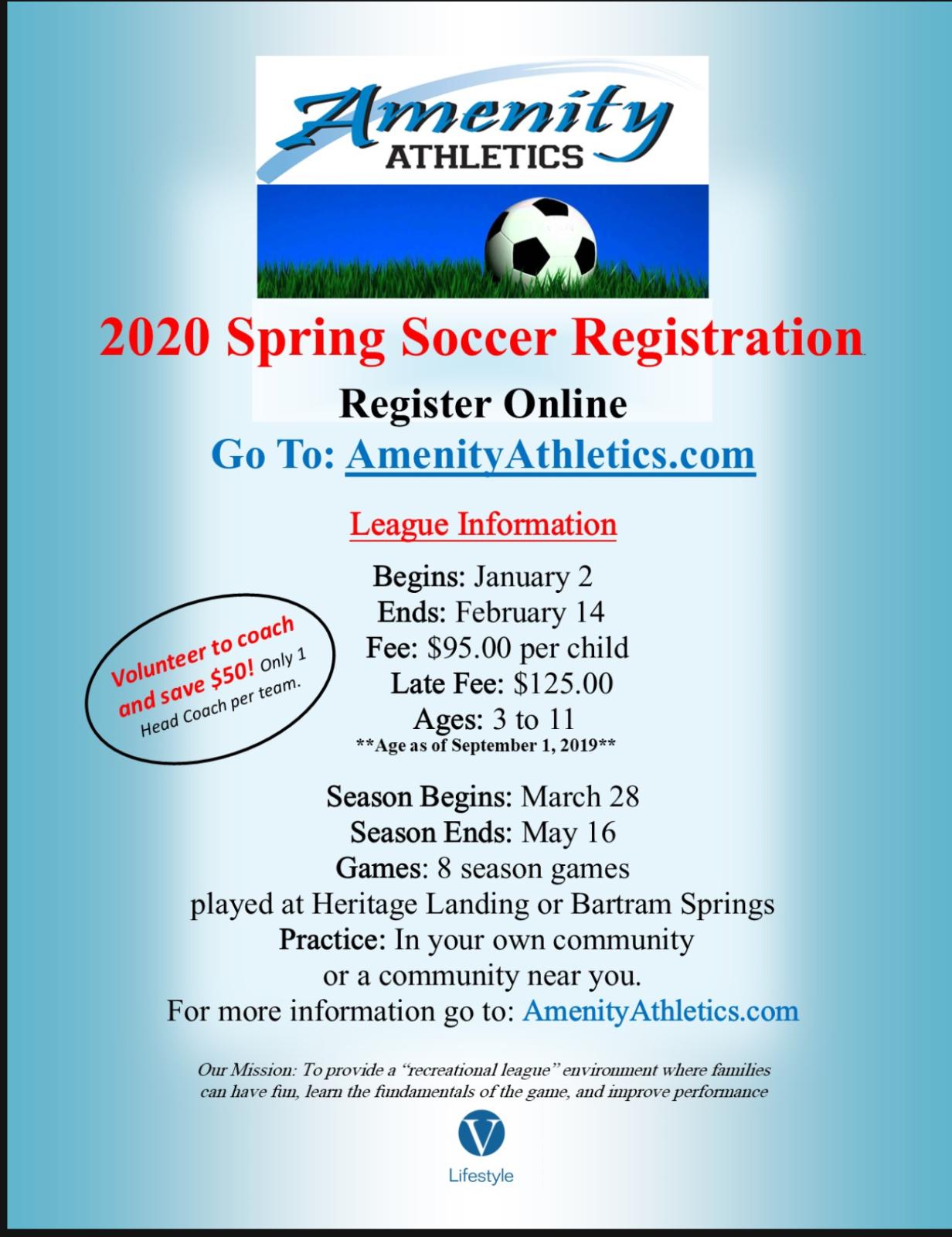 2020 Spring Soccer